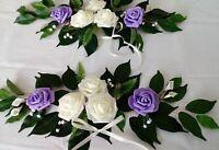 Ehrenplatz Tischdeko Dekoration Tischdekoration Hochzeit Taufe Kommunion lila