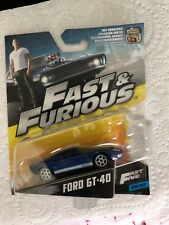 Fast and Furious Ford GT-40 die cast model car
