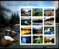 2019 US Stamp - Wild and Scenic Rivers - 12 Forever Stamps - Scott# 5381