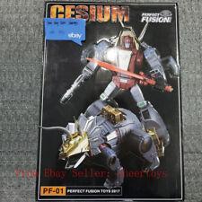 Prefect Fusion PF-01 FT04 Cesium Slag Masterpiece Figure In Stock