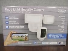 New Feit Electric LED Flood Light Security Camera WiFi Enabled Alexa Google Siri