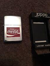 Zippo Special Coca Cola  Lighter