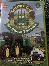 Tractor Ted All About Tractors DVD Farming Kids Preschool Learning Organic