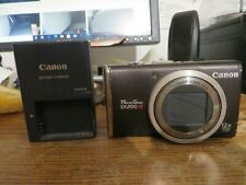 CANON POWERSHOT SX200 IS USED BE GOOD FOR PARTS OR MAYBE EASE FIX