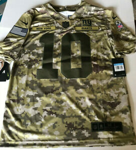 NWT-NIKE-SALUTE TO SERVICE ELI MANNING NY GIANTS SEWN JERSEY (M)  $170