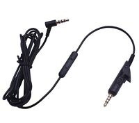 Replacement Audio Cable Cord For QuietComfort QC15  QC2 Headphone Wire Mic
