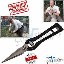 Foot Rot Shear Sheep Shears Hoof Trimming Scissors Sharp Serrated Blades