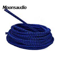 Blue 8TC 8core twist cable OCC Copper Wire Cable for HIFI Audio Speaker