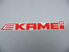 Original Kamei Aufkleber 23 cm Logo Schriftzug Sticker Tuning