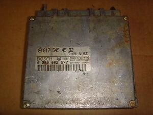 MERCEDES S CLASS W140 ENGINE ECU 0175454532