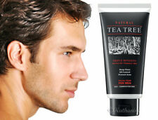 Tea Tree Natural Facial Foam For Men Oily Skin Acne Cleanser Pore Treatment 140g