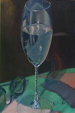 "Original Art, Giclee on Canvas, 8""x8"", GREEN ISLAND HOUSE 3"
