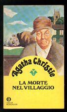 CHRISTIE AGATHA LA MORTE NEL VILLAGGIO OSCAR MONDADORI 1142 GIALLI 53 1980