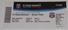 old TICKET CL 2013 Steaua Bucuresti Romania Dinamo Tbilisi Georgia