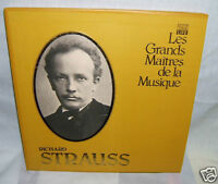 Richard Strauss LP records boxed set, Time-Life, FRENCH
