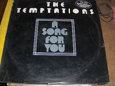 LP TEMPTATIONS A SONG FOR YOU USA PRESS MOTOWN 1975 COVER VG VINILE EX