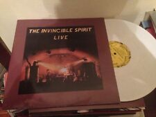 "INVINCIBLE SPIRIT - LIVE 12"" LP DOUBLE PACK - SYNTH DARKWAVE  EBM WHITE VINYL"