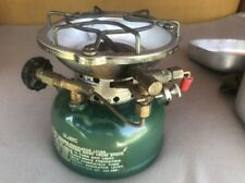 Coleman Sportster 502 Single Burner Camp Stove & camp cook kit