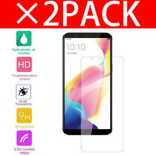 100% REAL TEMPERED GLASS FILM LCD SCREEN PROTECTOR FOR Oppo R11S Plus