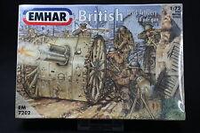YT033 EMHAR 1/72 maquette figurine EM7202 British Artillery with 18 pdr gun WWI