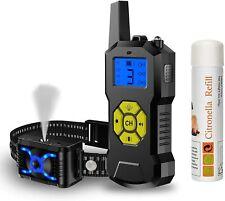Citronella Spray Dog Training Collar with Remote Control-Vibration Beep Spray