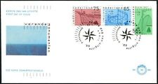 Netherlands 1989 Old Sailing Vessels FDC #C44394