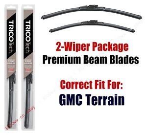 Wipers 2-Pack Premium Beam Wiper Blades fits 2018+ GMC Terrain - 19240/180