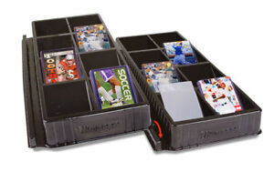 2 x ULTRA PRO One Touch Toploader Sorting Storage Tray 16 Slots Compartments