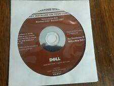 Dell Operating System Reinstallation DVD Windows Vista Business 32BIT
