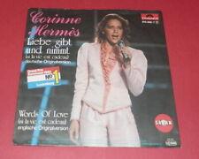 Corinne Hermes -- Liebe gibt und nimmt / Words of love  -- Single