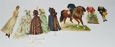 LMAS ~ Antique German Paper Dolls Irene of Hesse Royalty & Embossed