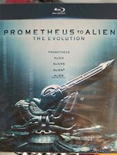 Pack Prometheus To Alien The Evolution Blu Ray