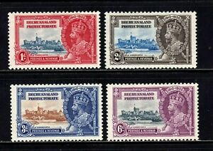 Bechuanaland Protectorate stamps #117 - 120, MLHOG,VF - XF, full set, SCV $15.75