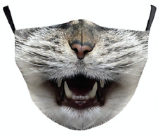 Kitty Cat Reusable Face Mask - Machine Washable - Moulds to your face