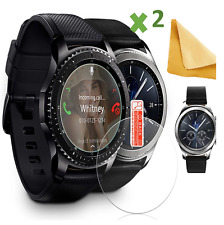 2 X Clear HD Screen Protector For Samsung GEAR S3 Classic / Frontier Smart Watch