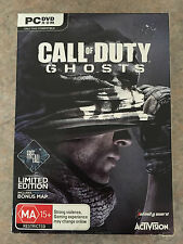 Call of Duty Ghosts Limited edition PC Windows brand new Sealed SAME DAY POSTAGE