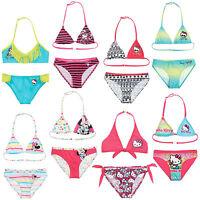 Official New Girls Bikini Swimsuit Swimming Costume Swimsuit Age 4-14 Years