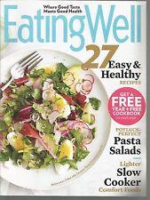 Eating Well Magazine Sample Pasta Salads/Slow Cooker Comfort Foods