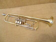 Finke Barocktrompete mit Trigger und Überblasklappe