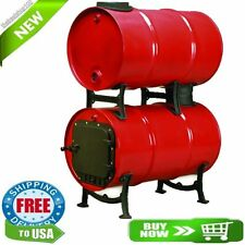 NEW US STOVE BKAD500 WOOD BURNING DOUBLE BARREL ADAPTER STOVE KIT 7666258