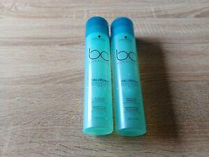 2x Schwarzkopf Professional Bonacure Hyaluronic Moisture Kick Shampoo 250 ml