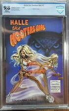 Halle The Hooters Girl 1 CBCS 9.8 First Print - Recalled Issue - HTF!