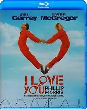 I LOVE YOU PHILLIP MORRIS (JIM CARREY) *NEW BLU-RAY*