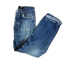 APC Rue De Fleurus Paris Jeans 29 X 30 Button Fly Straight Leg Med Wash