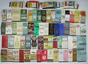 Vintage Matchbook Covers Mixed Lot Over 100 Hotel Restaurant Mostly California