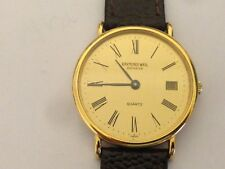 Authentic Vintage Gents Raymond Weil Geneve Classic working mens Swiss watch