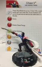 Citizen V 052 Super Rare Avengers Thunderbolts Soldier Marvel With Card heroclix