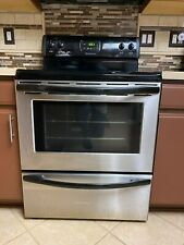 Frigidaire 30In Electric Stainless Cooking Range Oven and Dishwasher