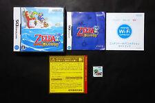 The LEGEND OF ZELDA PHANTOM HOURGLASS Nintendo DS JAPAN Good Condition !