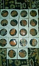 LOT OF 18 ASSORTED CENT ELONGATED COINS FROM USA FROM NEW YORK TO CALIFORNIA